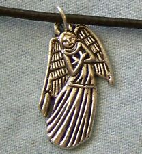 ))_ CUTE ~ TIBETAN ~ SILVER ~ ANGEL ~ NECKLACE  -- (GREAT_CHRISTMAS_GIFT)