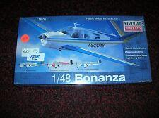"""Mini Craft # 11676 """"Bonanza"""" 1/48 list $ 25.00  new sealed lot # 1929"""