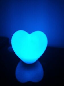 Calming Autism Sensory LED Toy Heart Night Light ADHD Battery Operated 3+