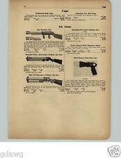 1951 PAPER AD Buck Rogers Sonic Ray Gun Norton Toy Air Guns Sub Machine Keyston