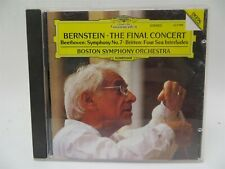 Bernstein ♫ The Final Concert ♫ Beethoven Symphony No. 7 ♫ Boston Symphony ♫ CD