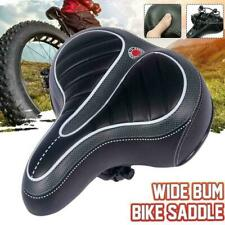 Comfort Wide Big Bum Bike Bicycle Gel Cruisers Extra Pad Sporty Seat Saddle Q1N3