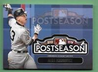 Alex Rodriguez 2018 Topps Update MLB POSTSEASON LOGO PATCH RELIC Yankees
