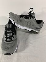 Reebok Fit Frame Mens Gray Black Size 11.5 EUR 45 Lace Up Athletic Running Shoes