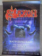 Saxon Battering Ram Promotional Poster