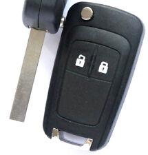 Auto Klappschlüssel Gehäuse 2Tasten für Opel Insignia Astra Zafira Corsa Meriva