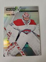 Carey Price 2020-21 UD Synergy FX #FX-4 534/749 Montreal Canadiens