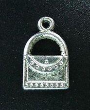 25pcs Tibetan Silver Handbag Charms 17mm R148