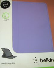 Belkin FormFit folio cover for Apple iPad Air, Lavender color, converts stand