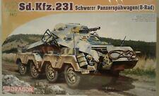 Dragon Models 7483, Sd.Kfz.231 8-Rad w/2cm. Kwk30 & MG3