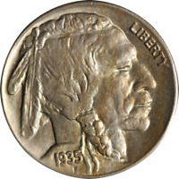 1935-P Buffalo Nickel Great Deals From The Executive Coin Company