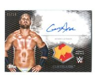 WWE Curtis Axel 2015 Topps Undisputed Black Autograph Relic Card SN 6 of 50