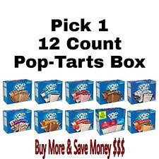 Kellogg's Pop Tarts Toaster Pastries 12 Count Pop-Tarts Box