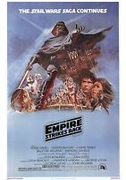 The Empire Strikes Back - A4 Laminated Mini Movie Poster - Star Wars