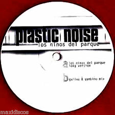 """10"""" - Plastic Noise - Los Ninos Del Parque (TECHNO) RED VINYL NEW FROM STORE"""