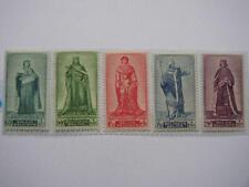 VICTIMES DE GUERRE / 1947 SERIE COMPLETE 751 A 755 ** portraits du senat 2