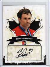 SCOTT NIEDERMAYER 10/11 ITG Canadiana Auto Autograph A-SN1 SP Devils Team Canada