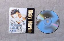 "CD AUDIO MUSIQUE/ RICKY MARTIN ""TE EXTRANO, TE OLVIDO, TE AMO"" 2T CD SINGLE 1997"