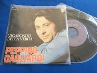 PEPPINO GAGLIARDI - VAGABONDO DELLA VERITA - PORTUGAL 45 SINGLE