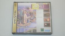 """Sega Saturn Games """" SIM CITY 2000 """" TESTED / S0023"""