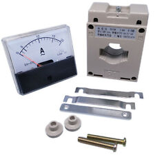 Us Stock Analog Panel Amp Current Meter Gauge Dh670 20a Ac Amp Current Transformer