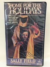 Home For the Holidays VHS, RARE big clam box, horror, cult, gore, OOP