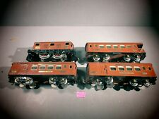 IVES 3235  LOCOMOTIVE AND TWO PULLMAN CLAB CARS #184 & 186 OBSRVATION CAR.