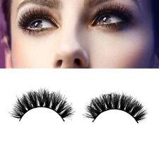Luxurious 100% Real Horse Hair Natural Thick Eye Lashes False Eyelashes 011 Best