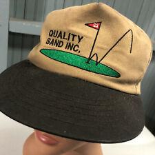 Quality Sand Golf Course Snapback Baseball Cap Hat