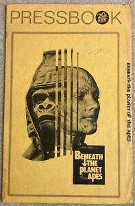 Vintage BENEATH THE PLANET OF THE APES Pressbook 1970 James Franciscus