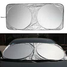 Front Rear Windshield Car Window Foldable Sun Shade Shield Visor Cover UV Block