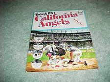 1971 California Angels Dell Stamp Baseball Stamp Sheet Set
