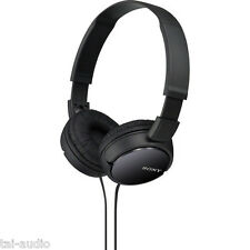 Sony MDR-ZX110 Lightweight Black Headphones