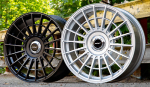 "19"" Stuttgart SF10 Alloy Wheels Matt Black 5x112 fits VW Caddy"