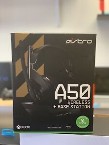 ASTRO A50 + Base Station RF Wireless Over Ear Gaming Headset Xbox, PC Gen 4 (UD)