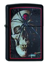 Zippo Lighter ● Mazzi Spider Skull Spinne Schädel ● 2004400 ● Neu New OVP ● A433