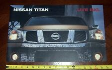 2004 NISSAN  TITAN  Brochure  First Year