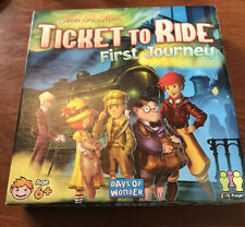 Ticket to Ride: First Journey Board Game COMPLETE Super Clean Days Of Wonder 6+