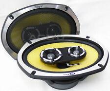 "Vibe BlackAir69 BA69 BA9 6x9"" 1050 watts 3-Way Coaxial Car Parcel Shelf Speakers"