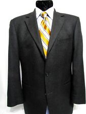 Hugo Boss Angelico 40R 2/3 Roll Button Loro Piana Cashmere Blend Gray Blazer