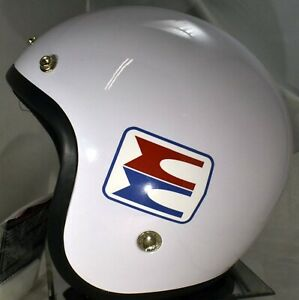 NEW Retro Styled Vintage Evinrude Snowmobile Helmet