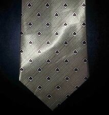 Xing Yuan Tie Gold Stripe Diamond Diagonal Stripe NIB t2310
