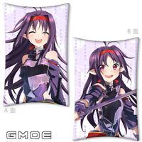 Anime Re Zero Emilia Dakimakura Cover Bed HugBody Throw Pillow Case 35*55cm Cute