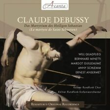 Claude Debussy : Debussy: The Martyrdom of St. Sebastian CD (2013) ***NEW***