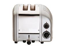 NEW Dualit 2 Slice NewGen Toaster -  METALLIC SILVER - DU02MS  - Handmade in UK