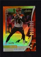 2019 Panini Absolute Orange #23 Andy Dalton /75