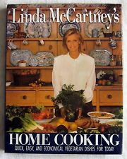 Linda McCartney's Home Cooking : Vegetarian Dishes ~ 1990 HBDJ 1st Edition