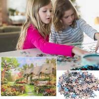 1000Piece Retro Jigsaw Puzzle England Cottage Landscapes Puzzles Educational Toy