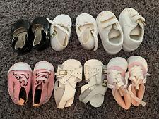 Newborn Baby Girl Shoes 6 Pairs