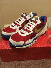 New 2010 Nike Air Max Trainer SC Low 407846-176 Pac Man Manny Pacquiao Size 10.5